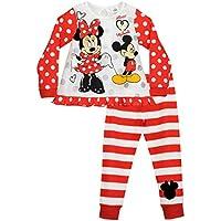 Disney Minnie Mouse - Pigiama a maniche lunghe per