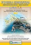 Penisola Sorrentina / Sorrentinische Halbinsel ( Italien, Kampanien, Sorrenthalbinsel, Amalfiküste) Wanderkarte 1:35.000 mit Stadtplänen und touristischen Informationen -