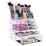 FOBUY Organisateur pour Maquillage Boîte de Rangement Cosmétiques (7 Drawers)