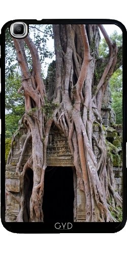 (DesignedByIndependentArtists Hülle für Samsung Galaxy Tab3 8.0 SM-T310 - Angkor-Tempel by Brian Raggatt)