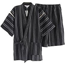 Fancy Pumpkin Traje de Pijama Kimono de Estilo japonés para Hombres ...