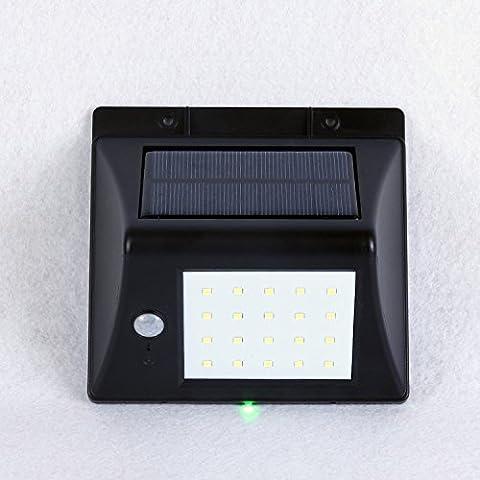 20LED à énergie solaire détecteur de mouvement lumière, Mmlight appliques