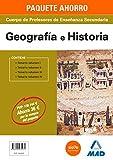 PAQUETE AHORRO GEOGRAFÍA E HISTORIA CUERPO DE PROFESORES DE ENSEÑANZA SECUNDARIA