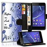 wicostar Wallet Book Style Flip Handy Tasche Case Schutz Hülle Schale Motiv Etui für Wiko Rainbow Jam - Variante UMV36 Design11