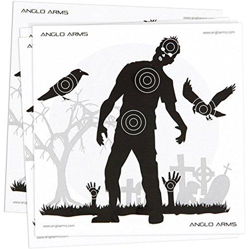 50 Zielscheiben Zombie Luftgewehr Luftpistole (Zombie Zielscheiben)