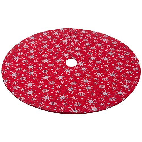xiliary Falda de Árbol de Navidad, 120cm Mini Falda de Árbol ...