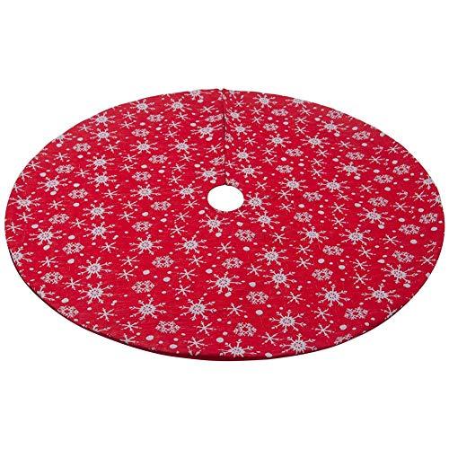 Indoor Christmas Decor Requisiten - Ljourney Weihnachtsbaum Rock Stoff Christbaumständerhüllen Christbaumschmuck