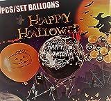 100 Halloween Luftballons bedruckt verschiedene Motive EU Ware- Keine China Ware