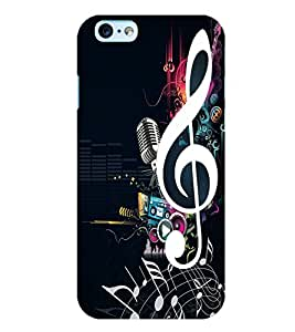 Citydreamz Music/Sound/Notes/Mic Hard Polycarbonate Designer Back Case Cover For Vivo V5 Plus