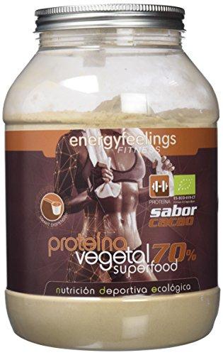 Energy Feelings Proteína Vegetal 70% sabor Cacao control de peso
