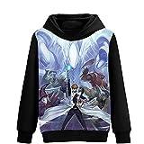 Yhgjhuie Yu-Gi-Oh Felpa Sportive Autunno Inverno Elegante Sweatshirt Caldo per Uomo e Donne Cappotto