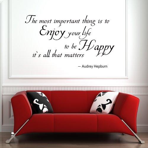 enjoy-your-life-di-essere-felici-motivazionale-audrey-hepburn-lettering-vinile-inspirational-adesivo