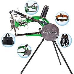 FayeLong Machine de réparation de Chaussures Bricolage Réparation de Chaussures Manuelle Machine à Coudre Machine à Coudre Les Chaussures Cobbler Ligne de Coton en Nylon Machine à Coudre