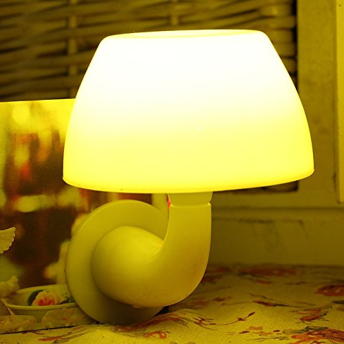 ZHIYUAN LED Sonic Plug-in / kleine Wandleuchte home Beleuchtung Kontrollleuchte / kreativer Sinn Pilz Nightlight