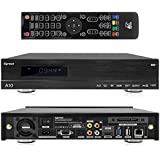Egreat A10 - UHD 4k Android Mediaplayer mit Display und Festplatten Schacht (HDMI, MKV, USB, LAN, WLAN) [Volles BD ISO Menü]