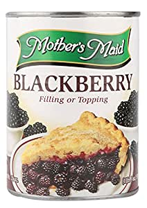 Mother's Maid Blackberry Pie Filling, 595g