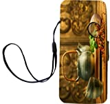 Rikki Knight Asian Herb Tea Kettle Scene Flip Wallet iPhoneCase with Magnetic Flap for iPhone 5/5s - Asian Herb Tea Kettle Scene