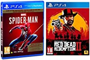 Marvel's Spider Man (PS4) - Game of the Year Edition (PS4) & Red Dead Redemption -