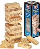 Wooden Tumbling Stacking Tower Jenga Kids Family Party Board Game Wooden Block Measures Upto 23cm Children Brand New And High Quality