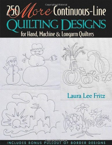 250 MORE Continuous-Line Quilting Design (English Edition) -