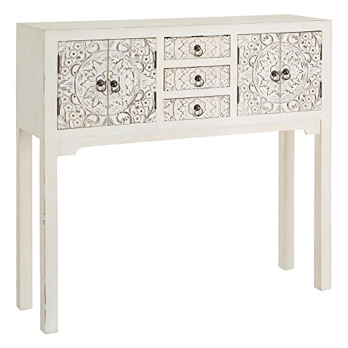 ch design mobles nacher axidecor mueble auxiliar recibidor oriente blanco rozado 4 puertas 3