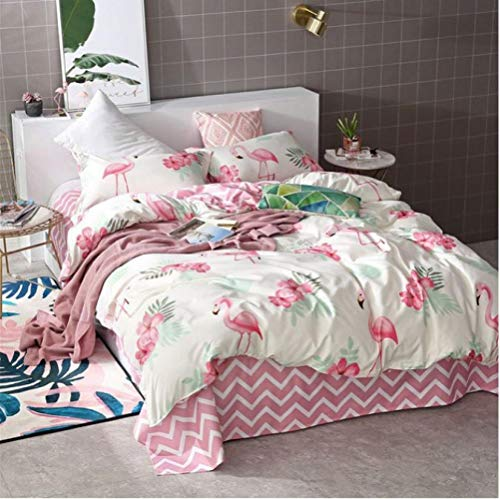 Bettwäsche Sets Bettbezug 3/4 stücke Bettbezug Set Bettbezug Erwachsene Kind Bettwäsche Und Kissenbezüge Tröster Bettwäsche, Volle 4 stücke 180x220 cm -