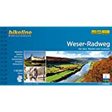 Weser-Radweg. Von Hann. Münden nach Cuxhaven, 510 km, Radtourenbuch 1:50 000, GPS-Tracks Download, wetterfest/reißfest