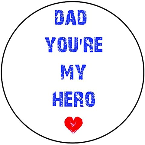 Dad you' re my Hero Cake Topper