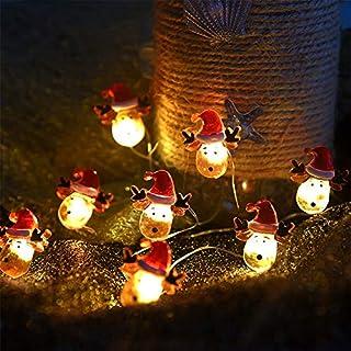 sakj-d Lampe String Batterie Box Führte Urlaub Weihnachten Lichter String Bar Dekoration, 2 Meter -20