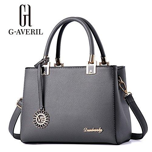 G-AVERIL, Borsa a mano donna Navy Blue Grey1