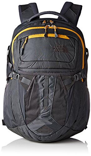 The North Face Unisex Rucksack Recon, 31,1 x 33 cm, 31 liters, CLG4 Grau/Orange/asphgy/Citrinyw