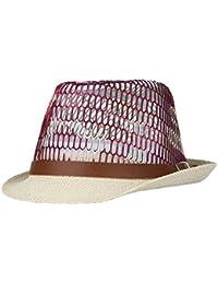 La Vogue Chapeau Panama Paille Fedora Trilby Soleil Femme Homme Casual
