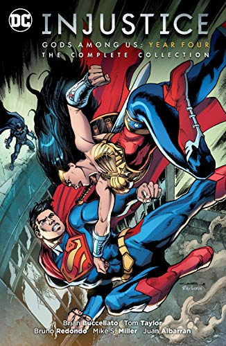 Injustice: Gods Among Us Year Four - The Complete Collection (Injustice: Gods Among Us (2013-2016)) (English Edition)