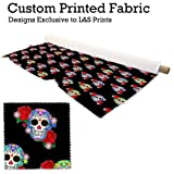 L&S PRINTS FOAM DESIGNS Candy Skull Design Digital Print