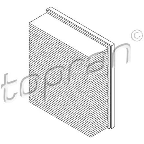 Topran 109 043 filtre à air