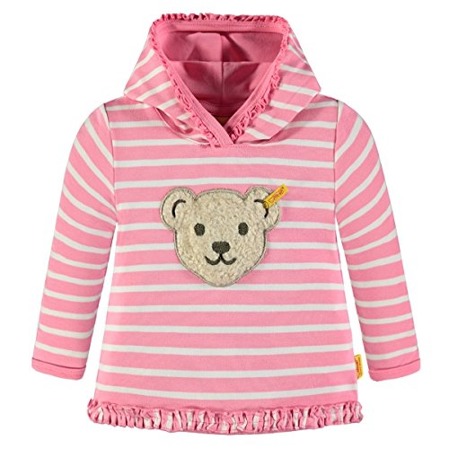 Steiff Collection Mädchen Sweatshirt 1/1 Arm 6833153, Rosa (Morning Glory 2998), 86