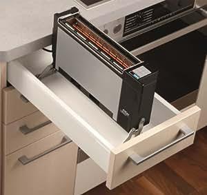ritter et 10 einbau toaster made in germany. Black Bedroom Furniture Sets. Home Design Ideas