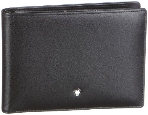 Montblanc MEISTERSTÜCK BRIEFTASCHE No. 06179 6179 Unisex - Erwachsene Portemonnaies, na schwarz (na) -