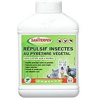 Action Pin Saniterpen Répulsif Insectes au Pyrèthre pour Élevage 200 g