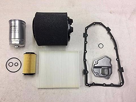 ASHIKA WINFIL ATP Filters Service KIT Dodge Caliber PM 2.2CRD 2011-2012 Automatic Transmission