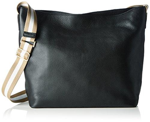 Clarks Damen Tothill Drive Henkeltaschen, 13 x 30 x 32 cm Schwarz (Black Leather)