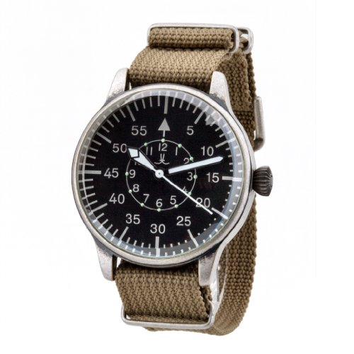 Pilot JLP-101-Armbanduhr, Armband aus Nylon