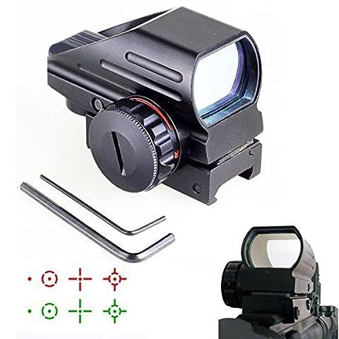 HD103 Leuchtpunktvisier, Reflexvisier, Red Dot Visier, 1x22x33 für 22mm Weaverschiene (1)
