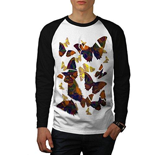 papillon-cubisme-art-punaise-homme-nouveau-blanc-avec-manches-noires-l-base-ball-manche-longue-t-shi