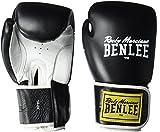 BENLEE Rocky Marciano Unisex Tough Guantoni da Boxe, Unisex, Tough, Black, 16 oz