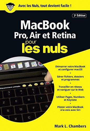 MacBook pour les Nuls poche, 2e édition (POCHE NULS) par Mark L. CHAMBERS