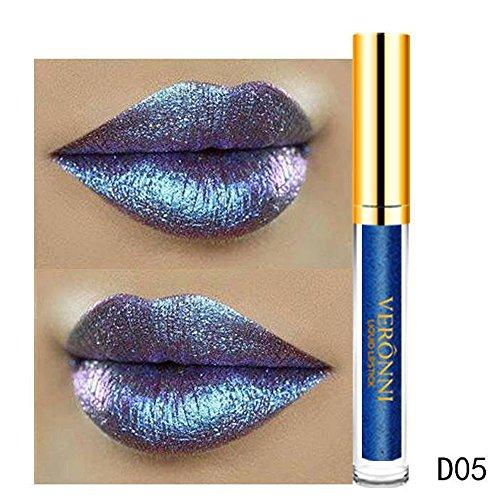 MERICAL 10 Color Magic Glitter Flip lippenstift set Flip Pull Matte Pearl Lip Gloss Clu E