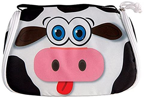 Snack Pets Freezable Lunchbox And Place Mat With Insulated Gel Pack-Milky The Cow by Snack Pets