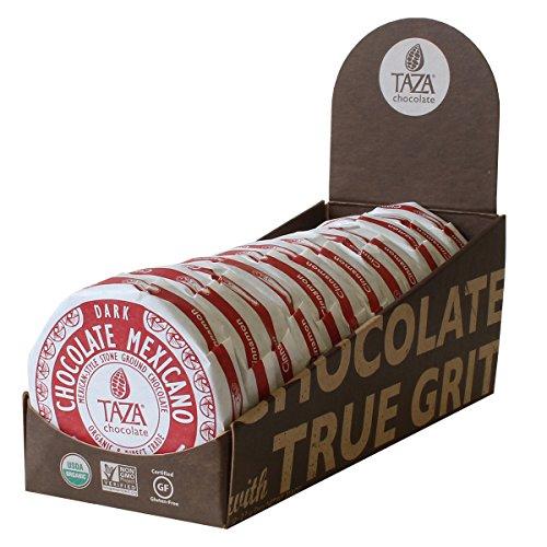 Organic Chocolate Discs Cinnamon 2.70 Ounces (Case of 12) by Taza Chocolate