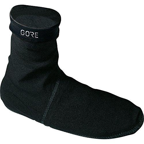 GORE Wear Unisexe Chaussettes de Cyclisme Imperméables, GORE C3 GORE-TEX Socks, Taille: 45/46, Couleur: Noir, 100243